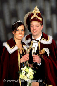 Prinzenpaar 2014 Frank und Sonja Winkler