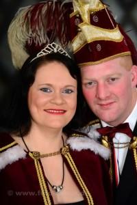 Prinzenpaar 2016 Rene und Anja Mennicken