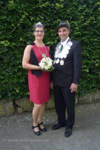 Köningspaar 2016 - Johannes und Marion Dinkhoff